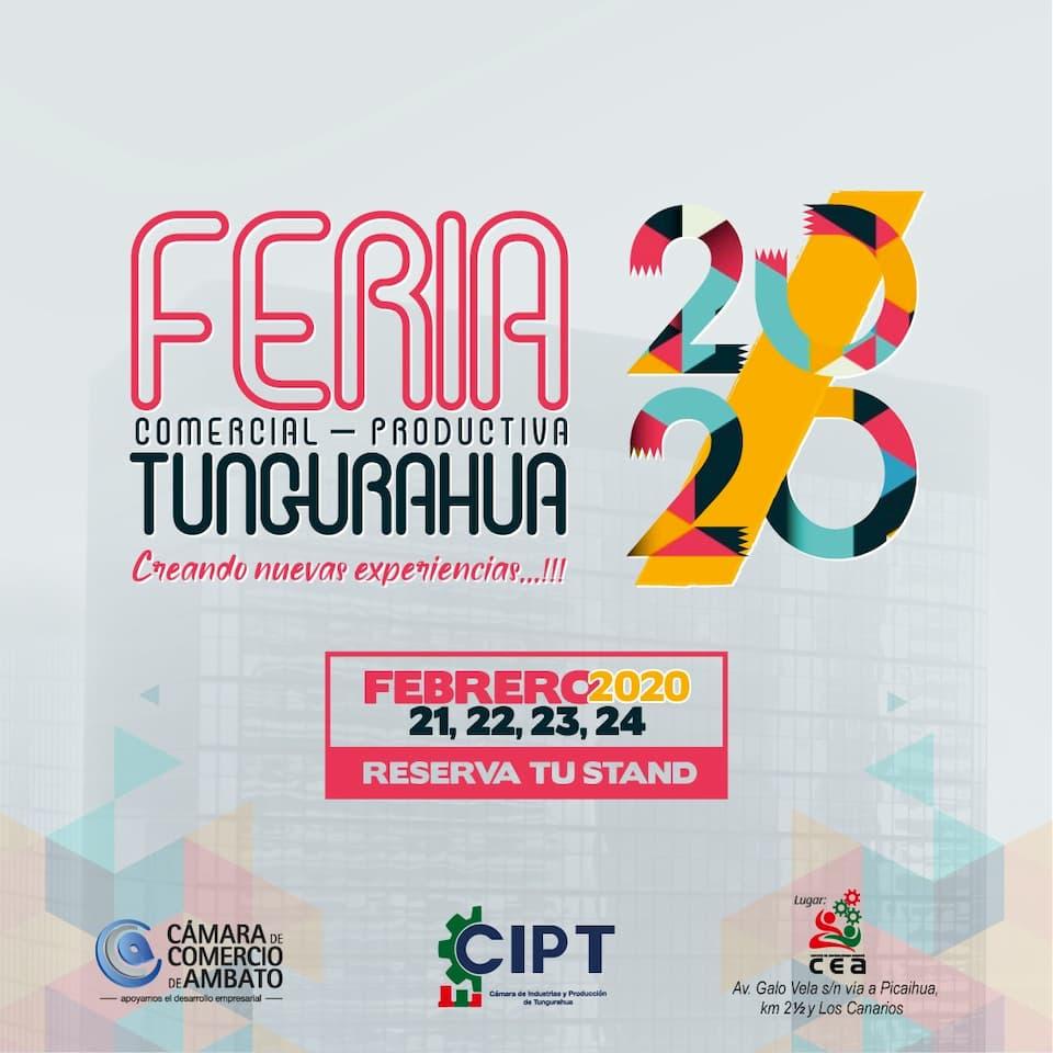 Feria Comercial y Productiva Tungurahua