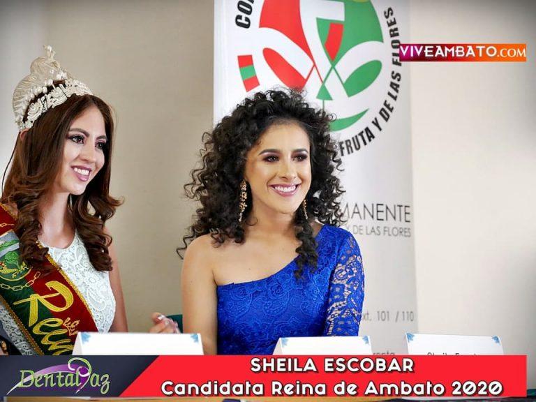 Sheila Escobar Primera Candidata a Reina de Ambato 2020