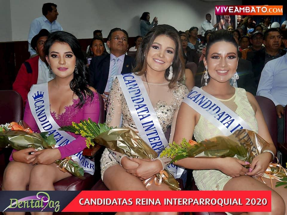 candidatas-reina-interparroquial-ambato