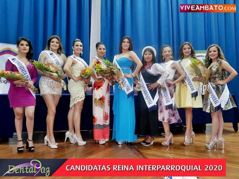 Candidatas Reina Interparroquial 2020