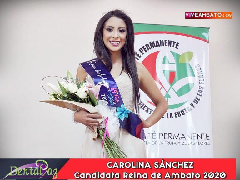 Carolina Sanchez Candidata a Reina de Ambato 2020