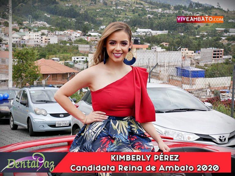 Kimberly Perez candidata a Reina de Ambato 2020