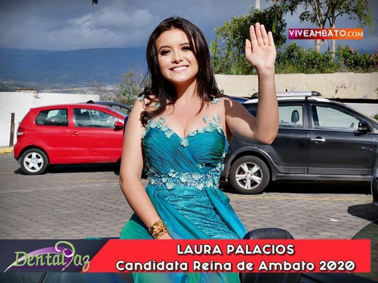 Laura Palacios candidata a Reina de Ambato 2020