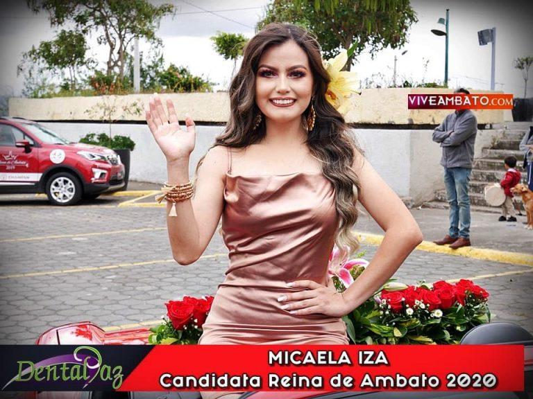 Micaela Iza candidata a Reina de Ambato 2020