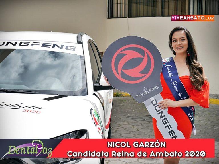 Nicol Garzon candidata a Reina de Ambato 2020